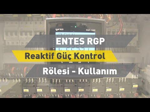 ENTES RGP Reaktif Güç Kontrol Rölesi - Kullanım