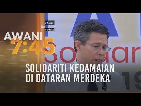 Solidariti kedamaian di Dataran Merdeka