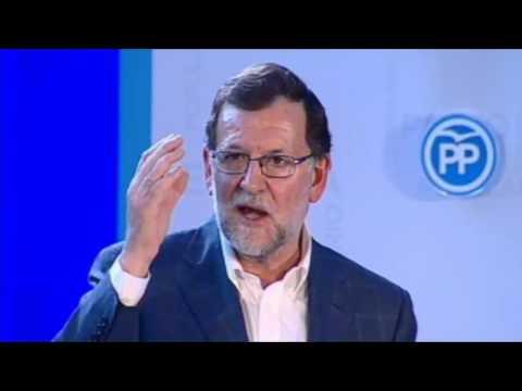 Rajoy: Esto no es un concurso ni un espectáculo
