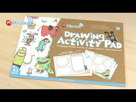 Micador jR. Drawing  Activity Pad A3 FSC Mix