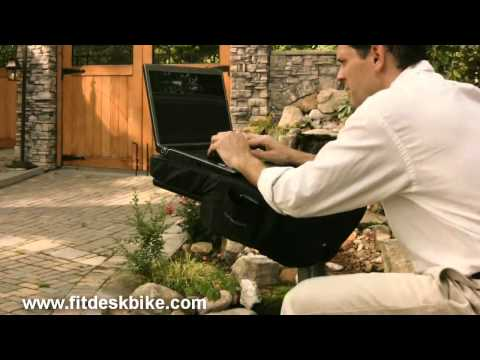 FitDesk Exercise While Using Your Laptop.