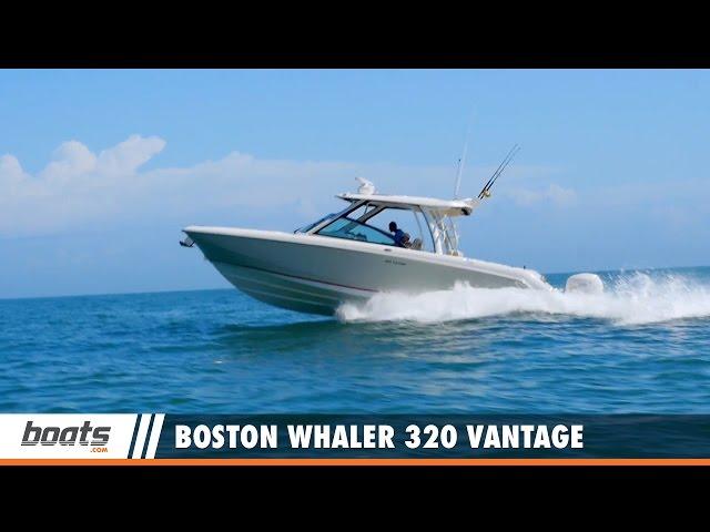 2017 Boston Whaler 320 Vantage: Video Boat Review