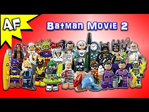 Vidéo LEGO Minifigures 71020 : The LEGO Batman Movie Série 2