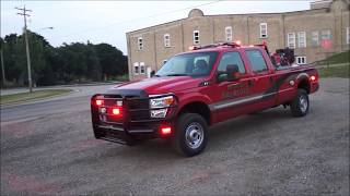 Big Bend Fire Department 2014 Ford F-350 Brush Truck