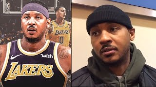 """Carmelo Anthony HUGE NBA SIGNING! """"Im Making MY COMEBACK NOW!"""" & LeBron REACTS!"""