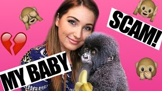 Adopting a Baby Gorilla on CRAIGSLIST | How I Was SCAMMED!