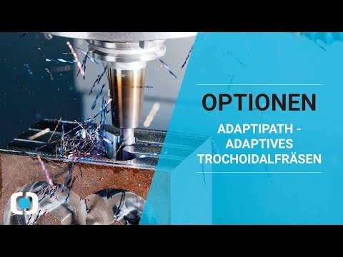 Adaptives Trochoidalfräsen