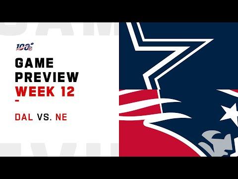 Dallas Cowboys vs New England Patriots Week 12 NFL Game Preview