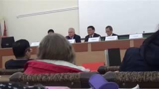 Школа Конфуция ЗНУ (Запорожье). Визит делегации Анхойского педагогического ун-та (Уху, Китай).