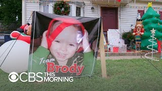 Community celebrates Christmas in September for 2-year-old with cancer - Video Youtube