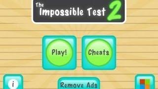 the impossible test 2 (Pixel Cube) walkthrough