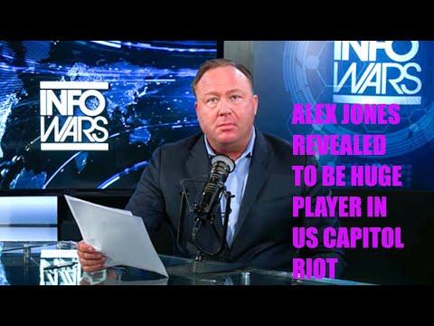 SHOCK: Infowars' Alex Jones REVEALED To Play HUGE Role In US Capitol Storming!