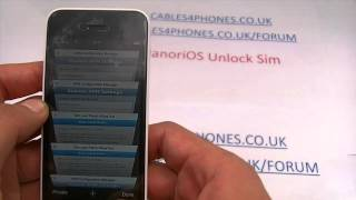 Unlock Your iPhone 5 / 5C / 5S To All Networks With cables4phones.com to Use O2 Sim