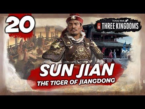 THE BLOODY TIGER! Total War: Three Kingdoms - Sun Jian - Romance Campaign #20