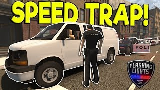 Police Simulator - Flashing Lights Game -  Gameplay - Arrest me, officer! PC HD