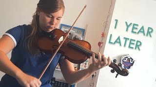 Trying to play Afterglow from Lindsey Stirling | 1 year