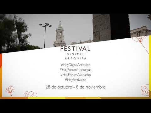 Hay Festival Digital en Arequipa