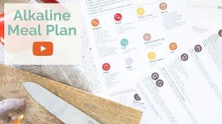 ALKALINE DIET L How To Create An Alkaline Diet Meal Plan