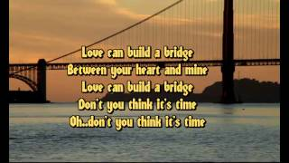 Westlife - Love can build a bridge