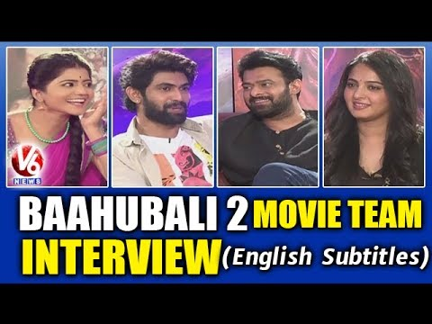 Baahubali 2 Movie Team Interview With Savitri