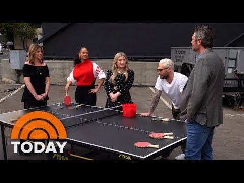 Kelly Clarkson, Adam Levine, Blake Shelton, Alicia Keys Talk 'The Voice'   TODAY