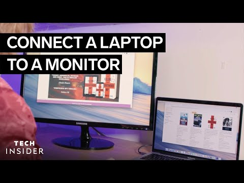 How to Have Multiple Display Screens With a Single Laptop!