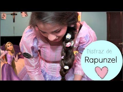 Disfraz de  Rapunzel ♡