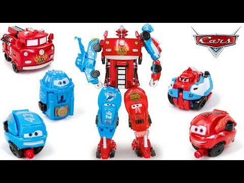Disney Pixar Cars 3 Joint Union McQueen Red Mater Dinoco Francesco Car&Truck Transformation