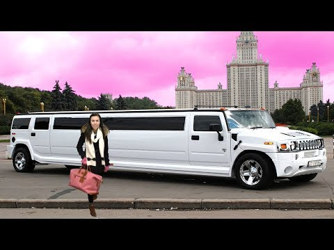 OUR GIANT HUMMER LIMO!!!