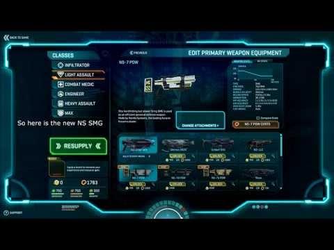 Planetside 2 - New Weapons & VS Weapon Sounds Comparison @ Test Server 16/7/2013