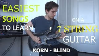 Easiest Songs To Learn On A 7 String Guitar