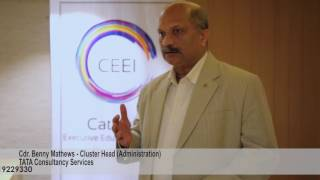 The CEEI Leadership Dialogue Feedback Cdr. Benny Mathews TCS