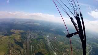 preview picture of video 'Short XC flight Klüsserath - Graach # 2013-08-11'