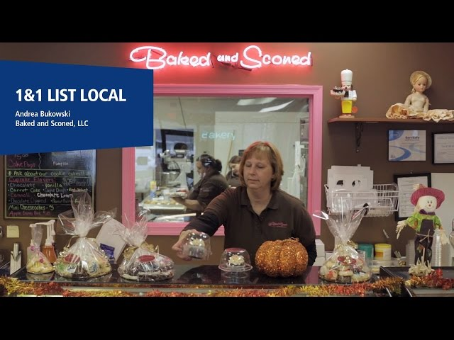 1&1 ListLocal Helps Local Bakery Improve their Online Presence