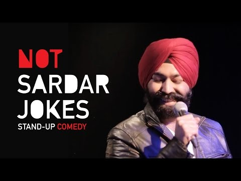Not Sardar Jokes| Stand-Up Comedy by Vikramjit Singh
