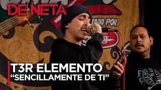 @T3R Elemento: Sencillamente De Ti | Palomazos 2020
