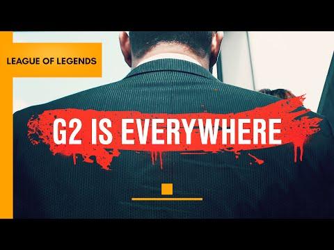 G2 is Everywhere(隊伍宣傳影片)