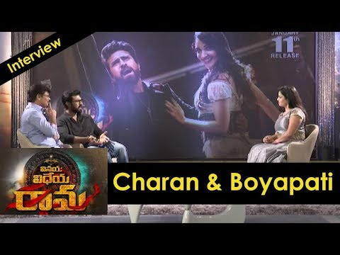 Boyapati and Ram Charan interview about Vinaya Vidheya Rama
