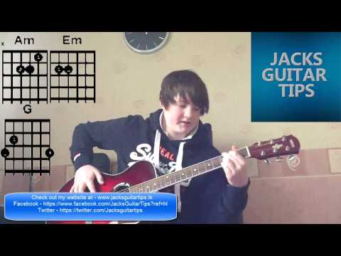 Beginner Chords  Am,Em,G,D On Guitar