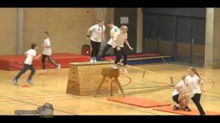 Детский паркур обучение, тренировка и трюки 2015