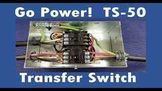 GoPower TS-50 Transfer Switch Install