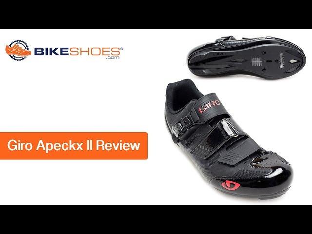 Видео Велотуфли Giro Apeckx II HV черно-красные