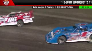 VIDEO: Highlights of the 100lap Dirt Late Model Dream DLMDreamXXIII