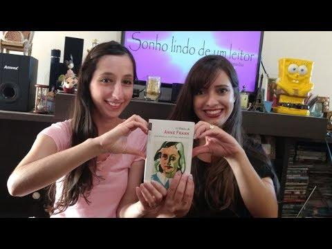O DIARIO DE ANNE FRANK - BATE PAPO (feat. Glaucia Bellascusa) | SONHO LINDO DE UM LEITOR #13