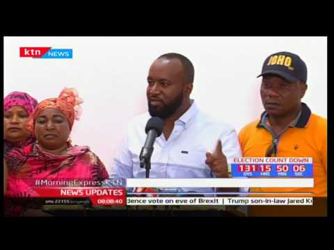 Joho says he takes pride in his results