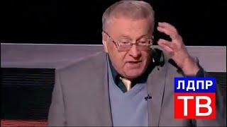 Лидер ЛДРП Владимир Жириновский о ситуации на Украине и ее решении