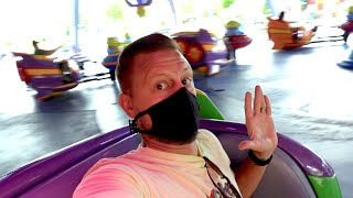 Disneys Hollywood Studios Reopens! | New Boarding Pass Procedures, Crowd Levels & Characters!