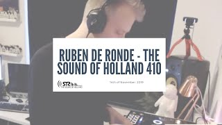 Ruben De Ronde - Live @  The Sound of Holland 410 Recordings 2019