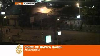 preview picture of video 'Rawya Rageh reports on police violence in Alexandria'