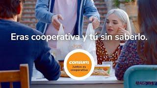 Supermercados Consum Vuelta a casa- Juntos es Cooperativa- Consum anuncio
